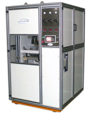 Soap Press for use in a production plant